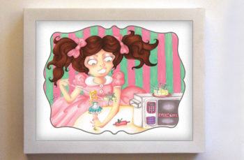Easy-Bake Dissension Featuring Colette 8x10 White Frame