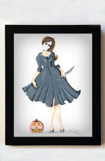 Michelle Myers 8x10 Black Frame