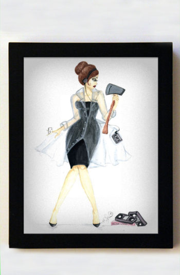 Patricia Bateman 8x10 Black Frame