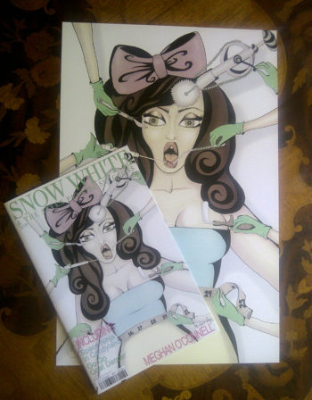 Snow White and the Seven Plastic Surgeons Comic Book and 11x17 Print
