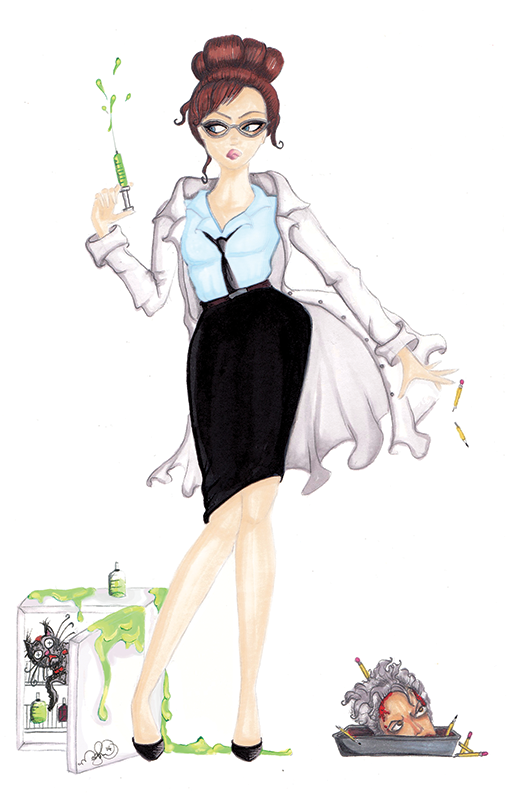 Harriet West - by Dirty Teacup Designs