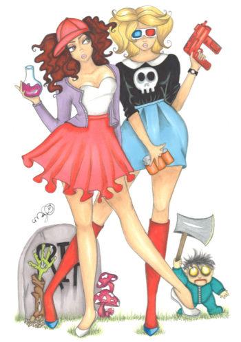 Zoe & Julie - by Dirty Teacup Designs