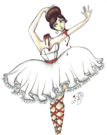Mina the Headless Ballerina - by Dirty Teacup Designs