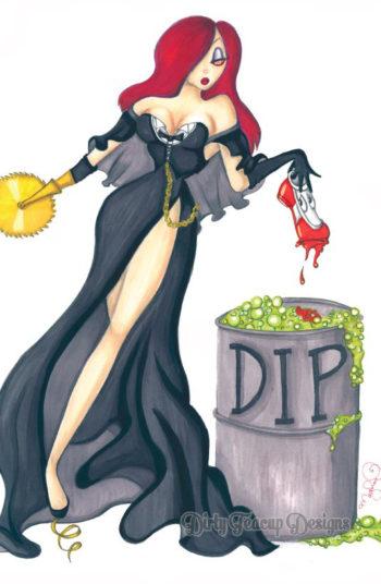 Jessica Doom - by Dirty Teacup Designs