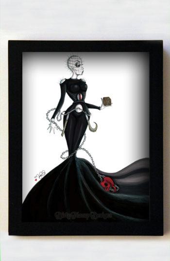 Helen Raiser 8x10 Black Frame