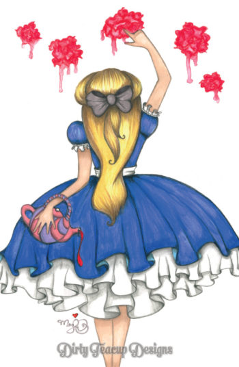 Painting The Roses Red - by Dirty Teacup Designs