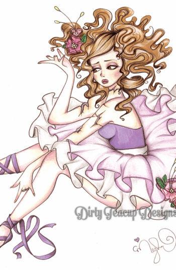 Clara the Broken Ballerina - by Dirty Teacup Designs